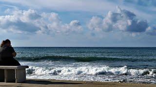 Лёгкий шторм в Пафосе Stormy sea in Paphos