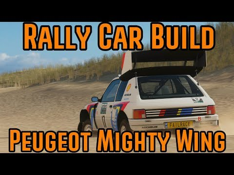 Forza Horizon 4 -  Rally Car Build - Peugeot 205 T16 thumbnail
