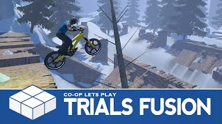 Trials Fusion | 3 Player Versus Gameplay
