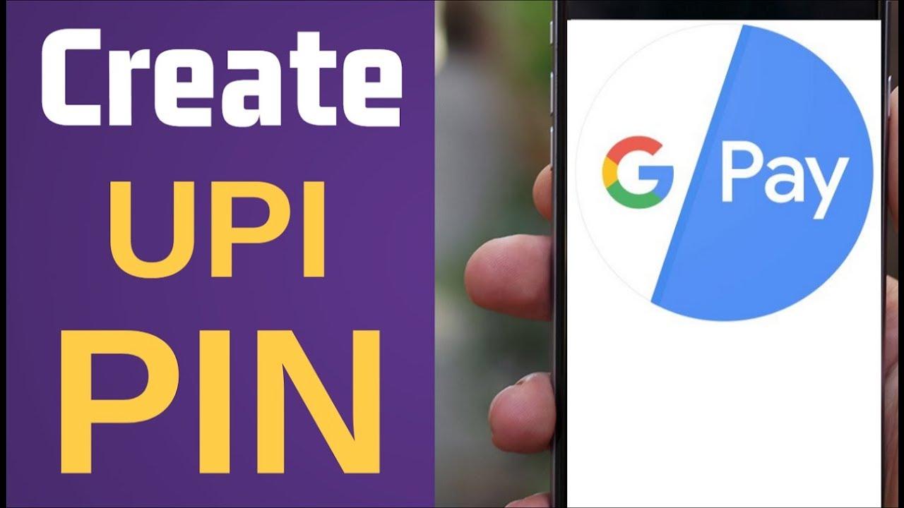 Create UPI PIN in Gpay (Google Pay)   How To Set UPI PIN Gpay