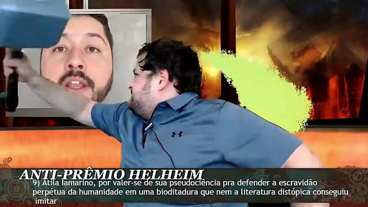 PAULO KOGOS destrói ÁTILA IAMARINO