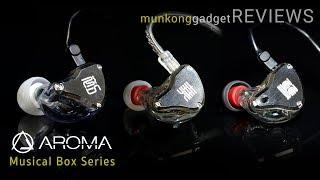 รีวิว : หูฟังอินเอียร์ Aroma Musical Box Seires