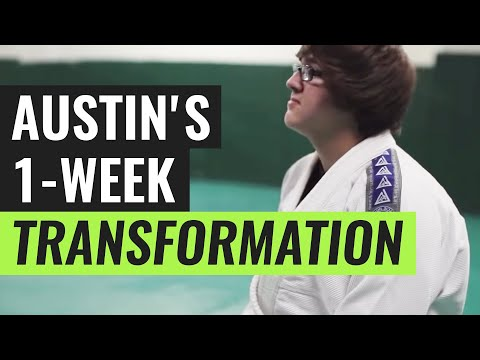 Gracie Bullyproof: Austin's 1-Week Transformation