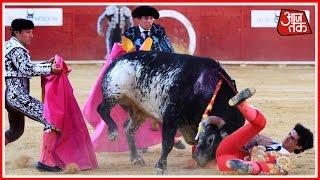 Spanish Matador Victor Barrio Gored To Death During Bullfight