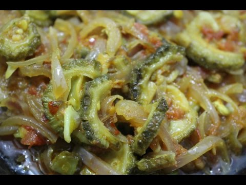 Karele Pyaz ki Sabzi || how to make onion and bitter gourd