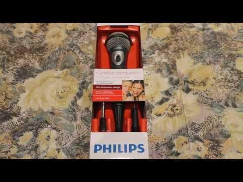 Unboxing Microfono Philips SBC MD150 ITA