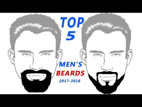 Top 5 Men's Beards of 2017-2018 part 1.