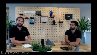 CREAT3D Ultrafast Additive Manufacturing Webinar Sep 2020