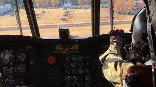 立川防災航空祭2017での陸上自衛隊ヘリコプター CH47チヌーク体験搭乗の...