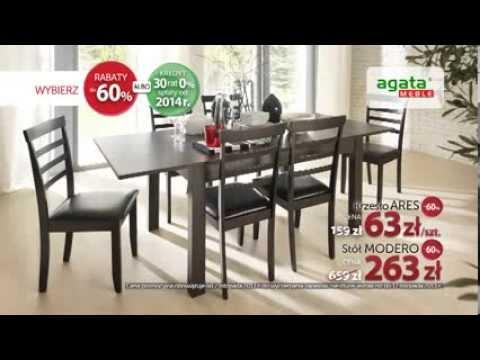 60 Urodziny Agata Meble Stol Modero I Krzeslo Ares 60 Taniej