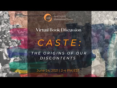 Caste, The Origins of Our Discontents, Book Discussion