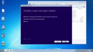 Como Passar o Windows 7 Para Windows 8 Sem Formatar