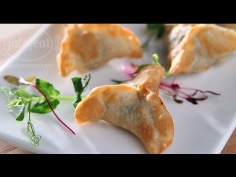 سمبوسك السبانخ - مطبخنا العربي 2 - فتافيت