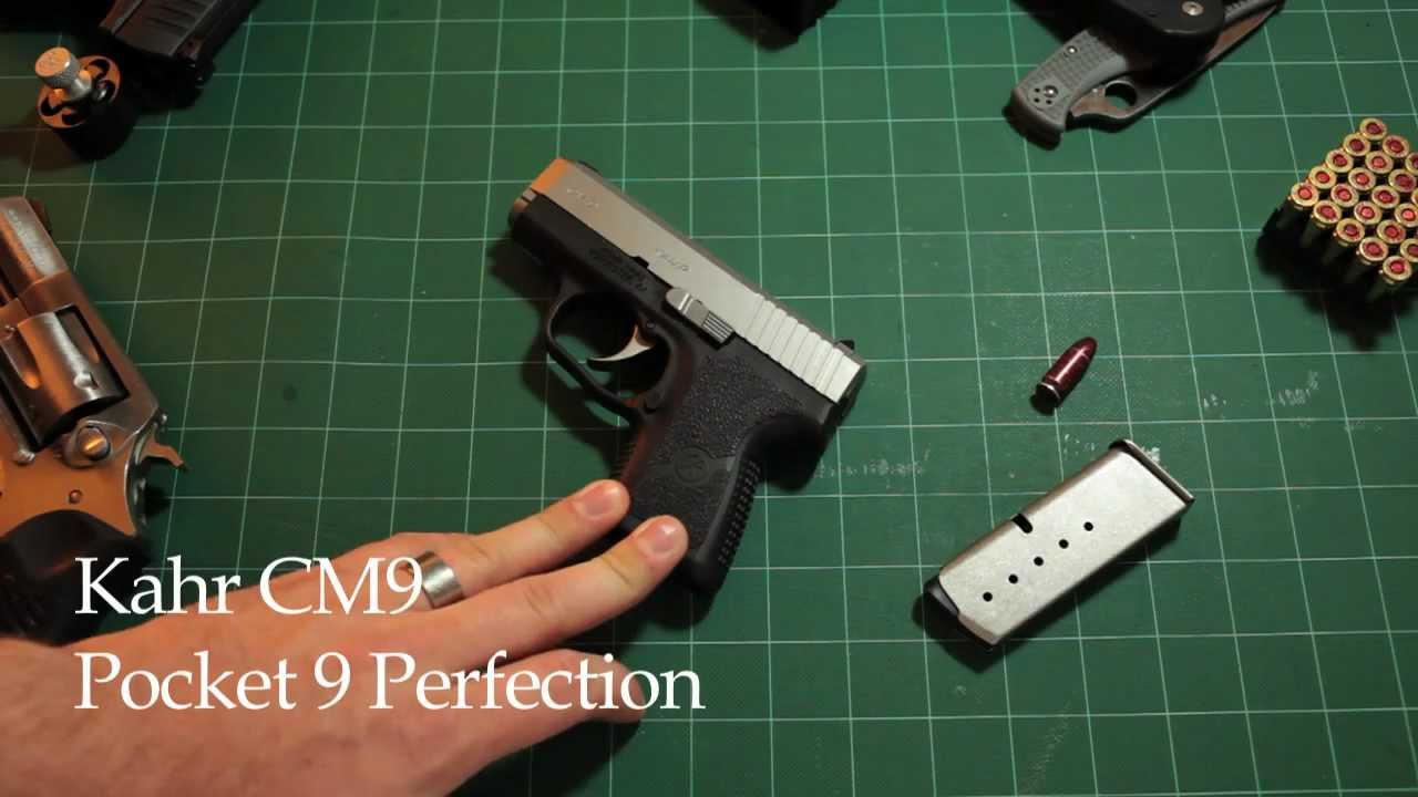Kahr CM9 Pocket 9 Perfection