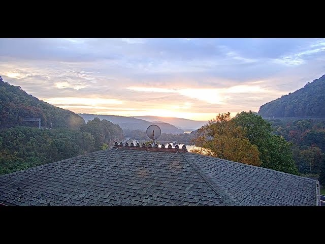 World Famous Horseshoe Curve - Virtual Railfan Recorded Footage