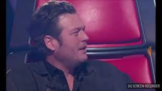 3 contestants on the voice who auditioned with coach's song