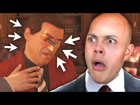 STABBING HIM IN HIS EYE WITH A PEN !!! (Hitman - Sapienza - Italy)