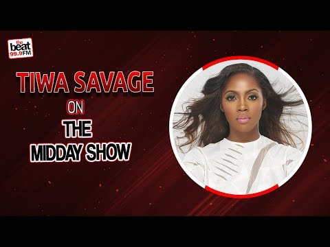 Tiwa Savage on The Midday Show with Toolz