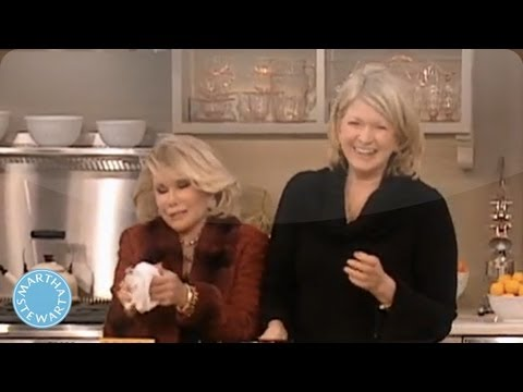 Bacon Wrapped Dates with Joan Rivers⎢Martha Stewart