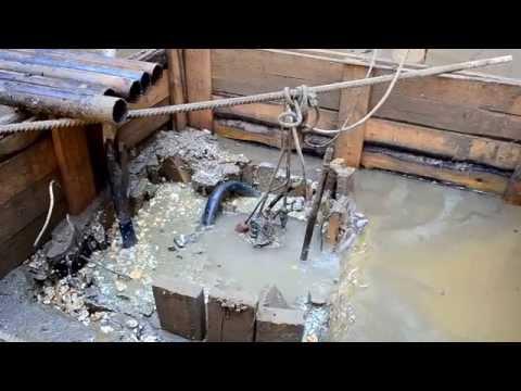 Работа фекального(канализационного) насоса ИРТЫШ ПФС