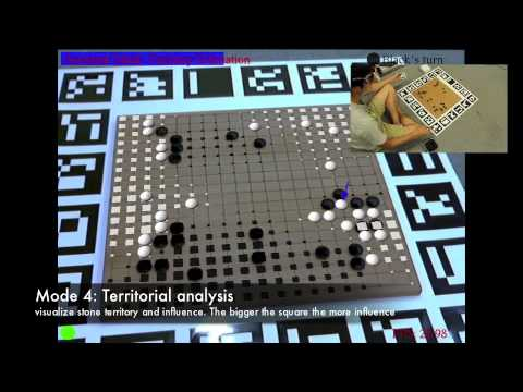 ARGoTrainer - Learning Go in an Augmented-Reality Environment (ICAT 2013)