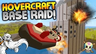 "GangZ Unturned Gameplay - ""HOVERCRAFT BASE RAID!!!"" - Unturned PvP Multiplayer"