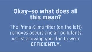 Prima Klima Carbon Filter -Performance Test