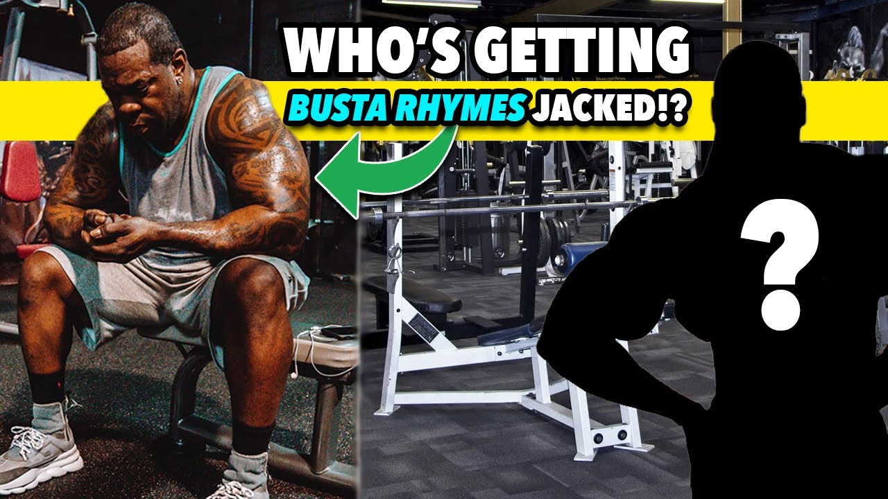 Busta Rhymes Gets JACKED! YOU WON'T BELIEVE WHO HE'S TRAINING WITH!