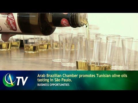 Arab Brazilian Chamber promotes Tunisian olive oils tasting in São Paulo