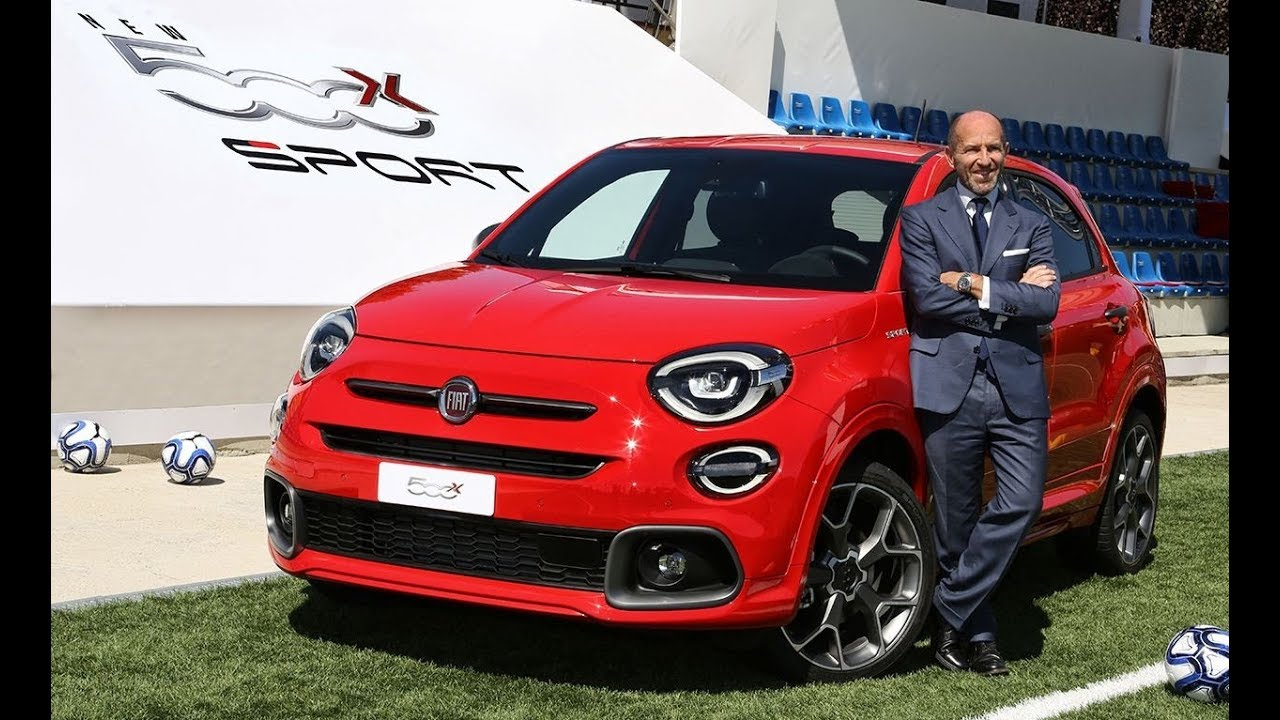 Fiat 500X Sport (2020) Detailed Look
