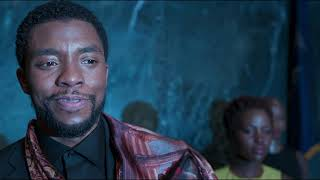 Black Panther (2018) - T'Challa's Speech to the United Nations