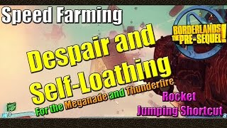 Borderlands The Pre Sequel | How to speed farm for the Legendary Thunderfire and Meganade | Tutorial
