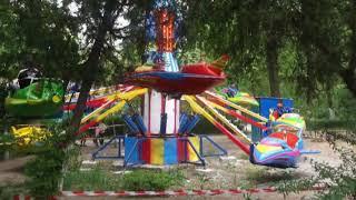 Наш старый парк Токтогула  Джалал   Абад       монтаж Закир  Касымов  октябрь 2017 год