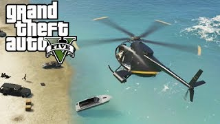 GTA 5 Online Mission: A Boat in the Bay - Bad Sea Jokes