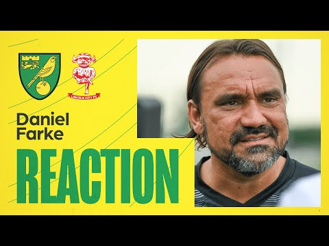 Norwich City 1-0 Lincoln City | Daniel Farke Reaction