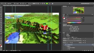 [Видео урок] Как сделать шапку для канала в программе Photoshop CS6
