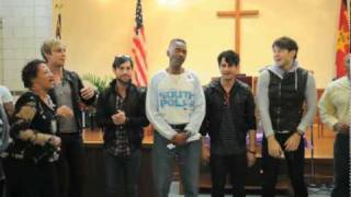Honor Society Visits The Salvation Army Adult Rehabilitation Center in Washington, DC