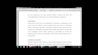 Business Skills for E-Commerce- Chapter-5 Electronic Payment (Security Requirements in E-Payment)