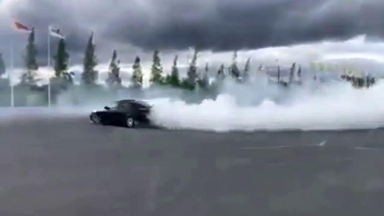 Audi drift like a boss