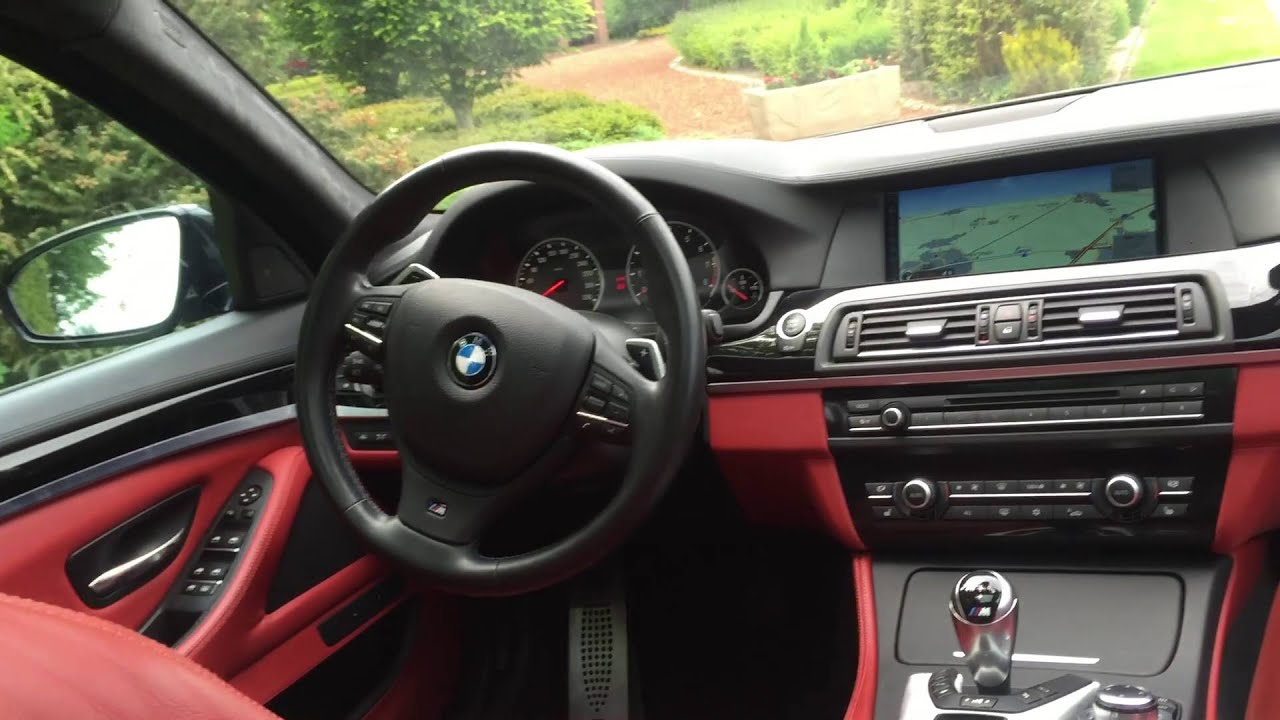bmw f10 m5 560 ps walk around interior exterior. Black Bedroom Furniture Sets. Home Design Ideas