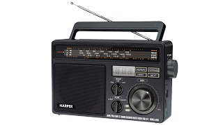 HARPER HDRS-099 - обзор радиоприемника