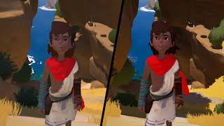 RiME - Switch vs. PS4 - Visual Comparison Video (Direct-Feed Footage)