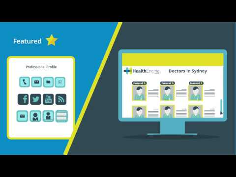 HealthEngine Online Health Directory and Appointment Marketing