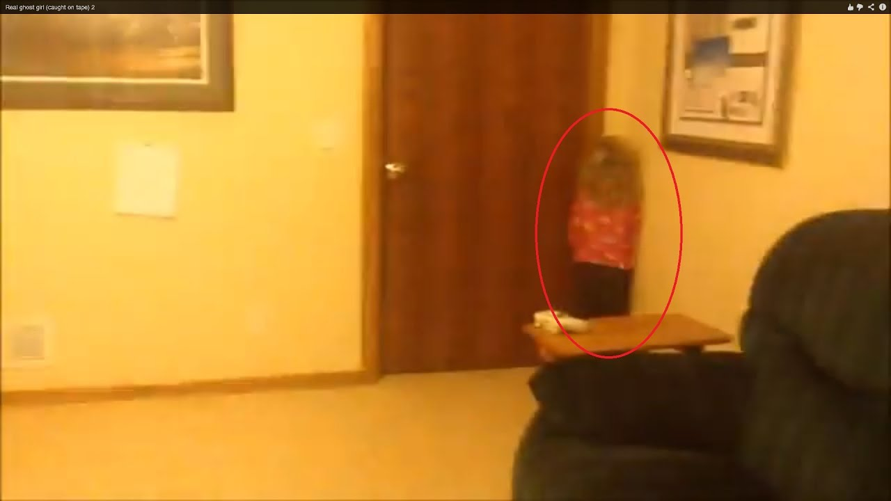 Real Ghost Girl Caught On Tape 2 Youtube