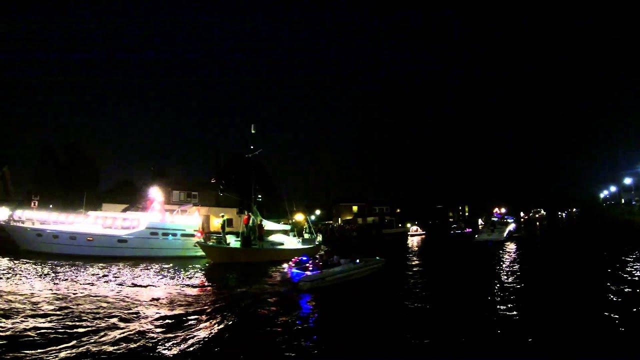 Verlichte botenshow feestweek Aalsmeer 2014 - YouTube