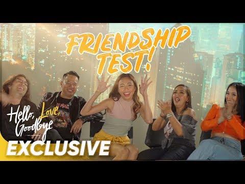 Friendship Test  &39;Hello Love Goodbye&39;