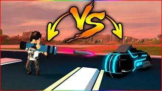 Volt Bike VS Rocket Launcher (Comparaison de vitesse) - Roblox Jailbreak