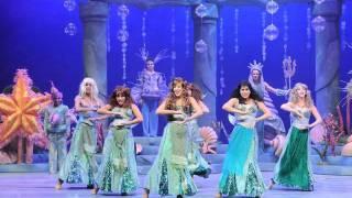 בת הים הקטנה המחזמר בנות טריטון the little mermaid musical israel