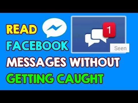 How To Read The Facebook Messages Without Getting Caught (Remove SEEN On Facebook Messenger)