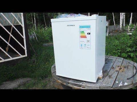 Прикупили Холодильник Supra RF-075 для Дачи из Aliexpress